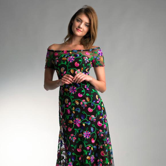 d47f56d9d91a Floral Dress By BASIX BLACK LABEL (NEW )